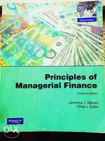 Principles of managerial finance. By lawrance j Gitman.