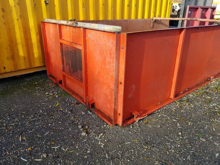 Beco BAGER opbouw front fascia for  180 Gigant trailer