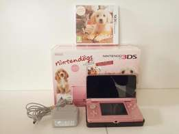 Pink 3DS Nintendogs And Cats, Awesome Condition!