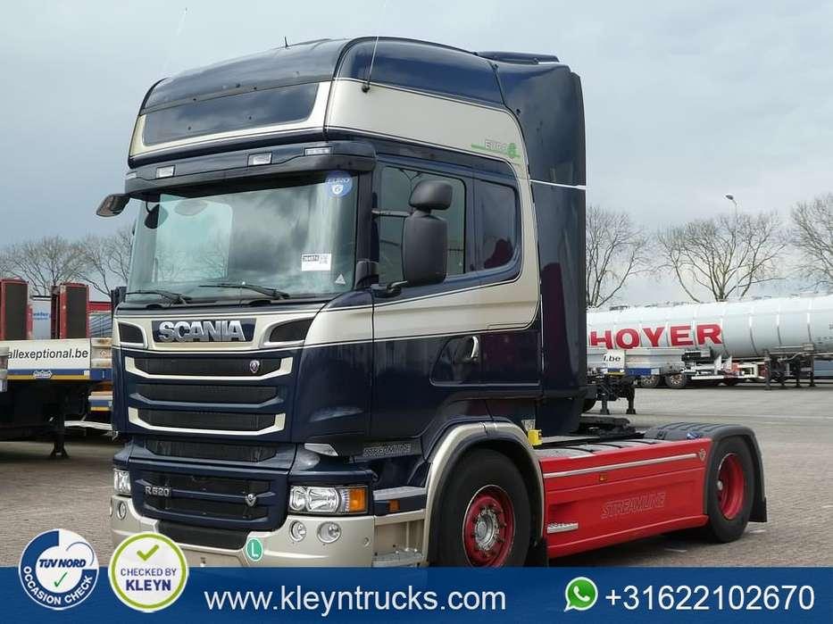 Scania R520 v8 retarder 2x tank - 2014 - image 8