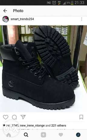 All black timberland boots City Centre - image 3