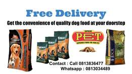 Quality Dog Food - Free Delivery