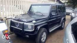Bullet proof 2007 Mercedes Benz G500 SUV. Barely used