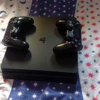 latest ps4 with two pads