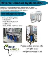 RO (Reverse Osmosis) - Industrial and Domestic