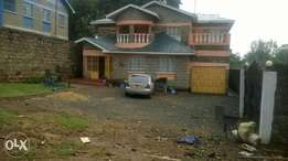 Five bedrooms house on sale nyeri town skuta
