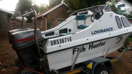 Boat for sale..bought new one..cabin cruiser 2x55 Yamaha