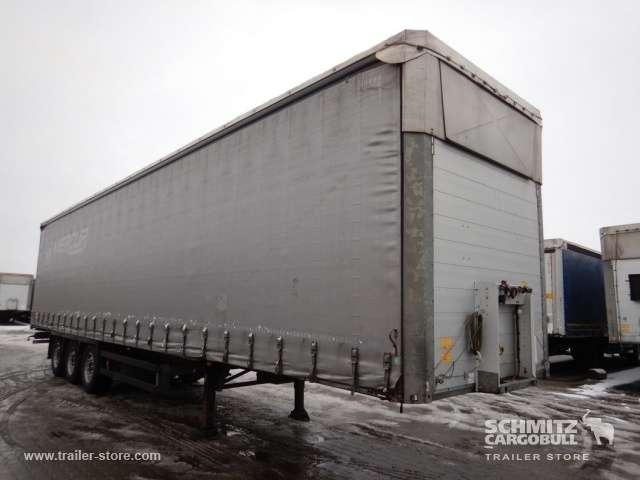 Schmitz Cargobull Schiebeplane Mega Seitentür Beidseitig Getränke - 2014