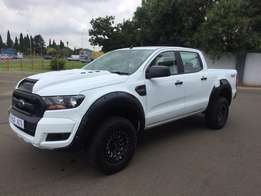 2017 Ford Ranger 2.2 Double Cab 4x4 XL Automatic,