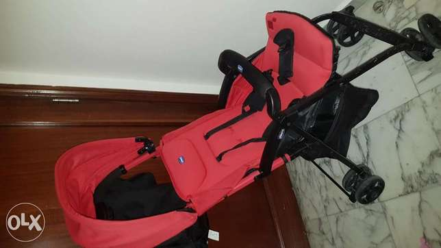 "Stroller""Chicco"" Daily Use & for Travelling Very Soft and easy to fold"