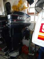 50 hp Evinrude long shaft motor