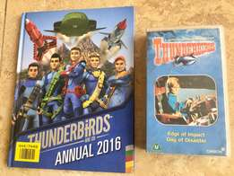 Thunderbirds are Go! Collectible video from original series & Book