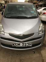 2010 Toyota Ractis very clean fully loaded not used locally law mileag