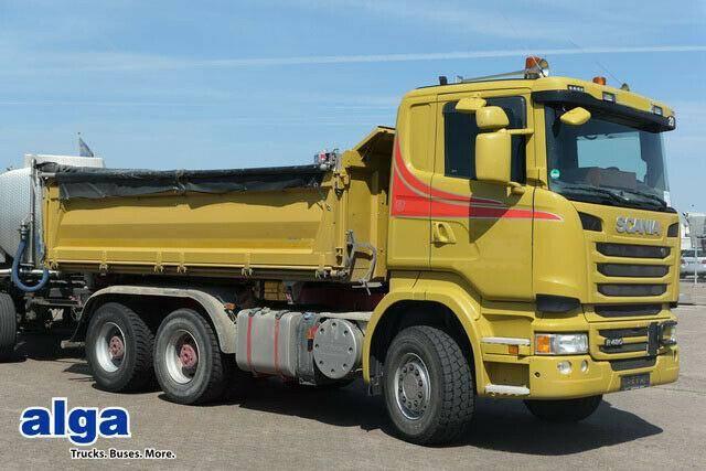 Scania R480CB 6x4, Plane, Bordmatik, 1x Schlafliege - 2014