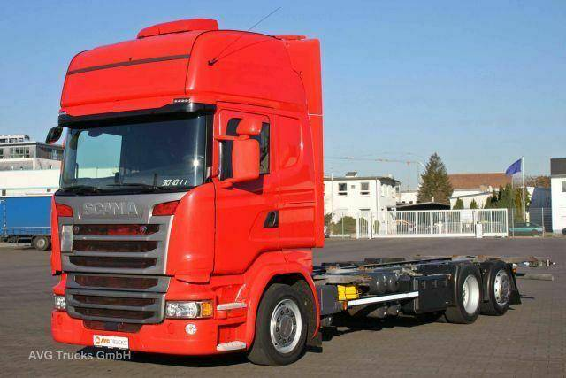 Scania R 410 SCR Only!, E6, Topline, BDF Jumbo, ACC - 2014