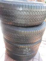 4xGeneral Graber AW tyres 265/70/16,80 percent!!