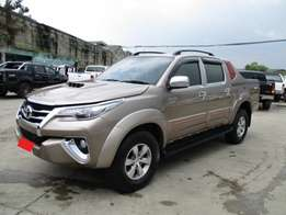 Toyota Hilux TRD New Fortuner Shape