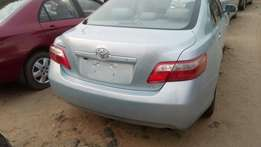 Tincan cleared tokunbo toyota camry 2008 fuloption with reverse camera