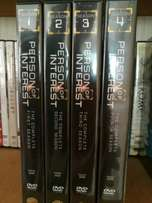 Person of interest DVD series 1-4