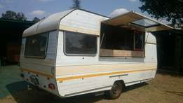 Fully equiped Mobile Caravan Kitchen