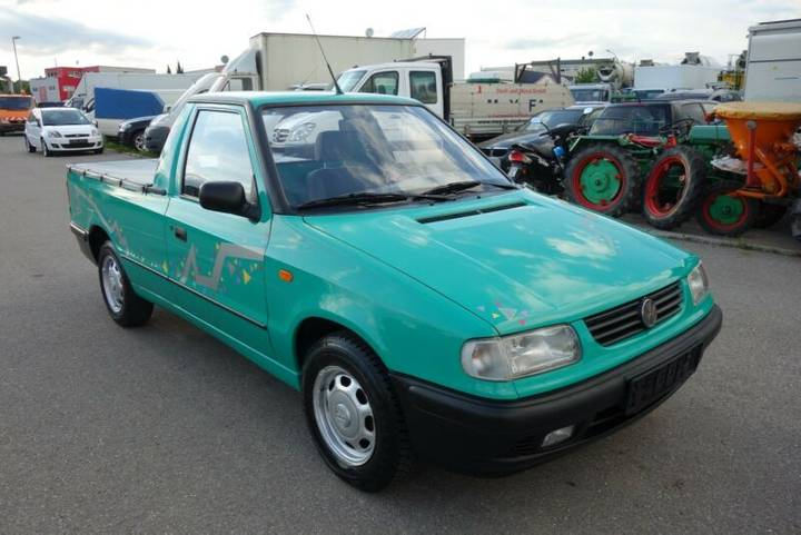 Volkswagen Caddy 1,9 DIESEL *PICK-UP*128.000KM*1-HAND*TOP* - 1997