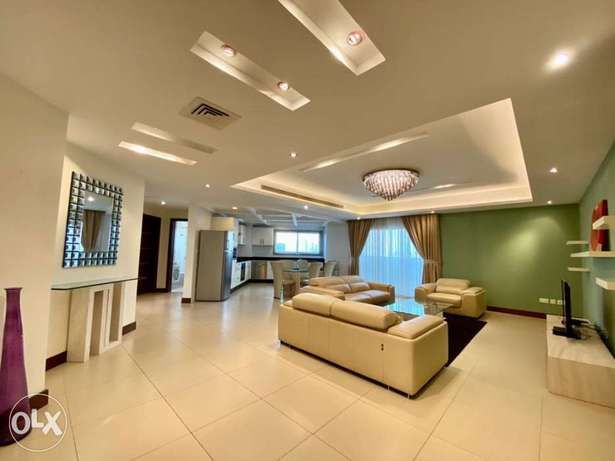 Luxurious 3 bed apartment for rent/maid/ewa/wifi/municipality tax/pool