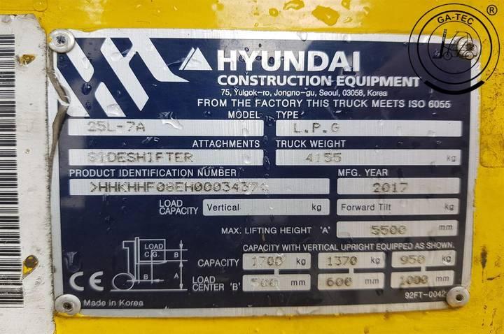 Hyundai 25L-7A - 2017 - image 8