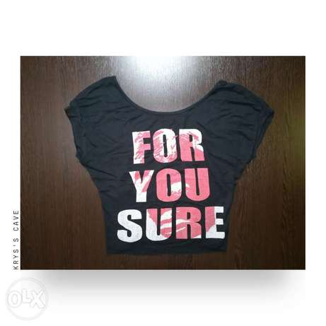 """""""For you sure"""" top"""
