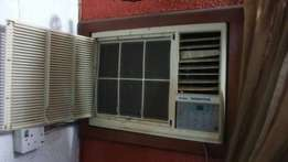 Fairly used 1.5hp window unit Haier Thermocool AC