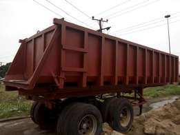 Foreign used tipping bucket for sale