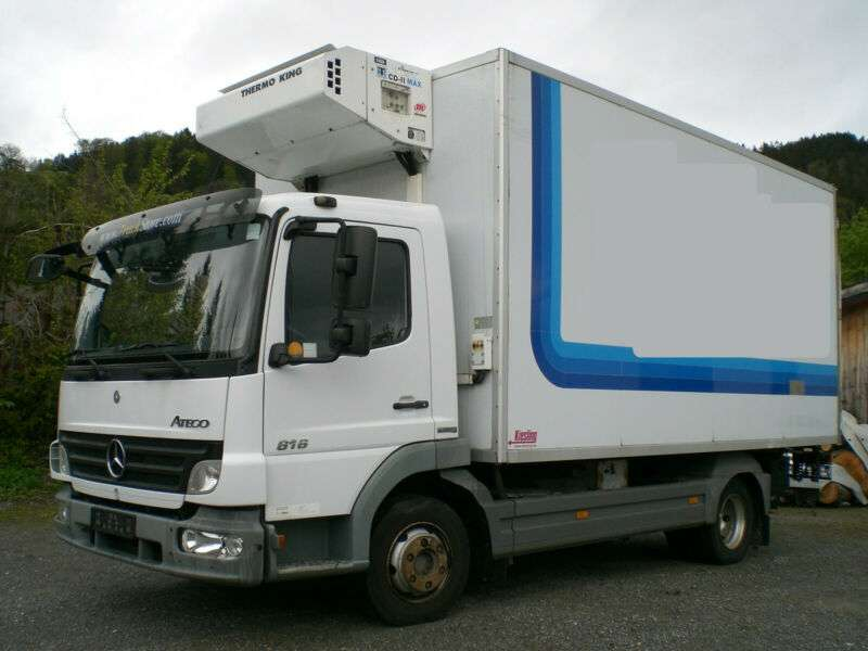 Mercedes-Benz 816 Atego Tiefkühl Thermo King CDII Max Aggregat - 2007