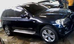 Very clean black BMW X5 KCA for sale at Mombasa Island