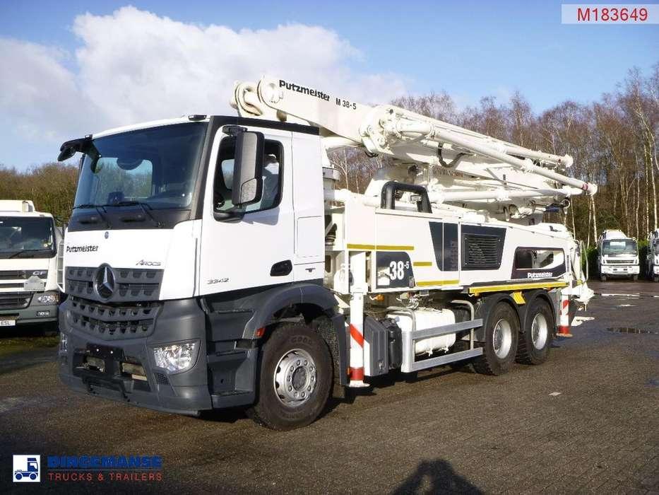 Mercedes-Benz Arocs 3342 6x4 Euro 6 Putzmeister 38-5.16H concrete pump - 2017