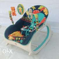 U.S Used Fisher-Price Infant-to-Toddler Baby Rocker