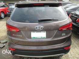 Registered 2015 model Hyundai Santa fe
