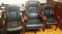 Executive imported italian leather office chairs