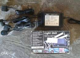 Light units for reptiles and fish