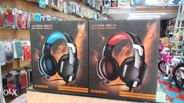 ps4 new gaming head phone gi200 model for sale each 6bd with mike