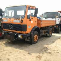 Mercedes tipper