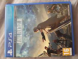 PS4 final fantasy 15 game