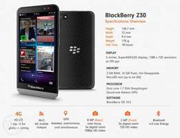 Blackberry Z30 Brand new, Original with warranty, Free delivery
