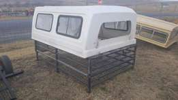 Toyota Land Cruiser Canopy and Cattle Frame