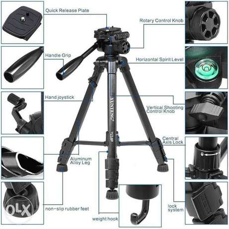 Tripod VCT 668 pro for professional camera from yunteng