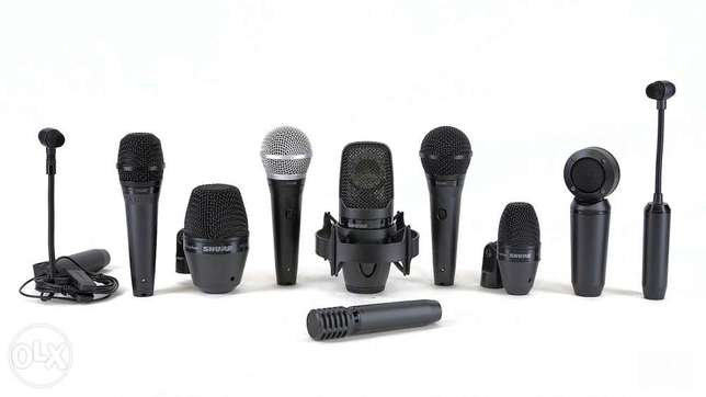 Shure Wireless and wired microphones Lagos - image 6