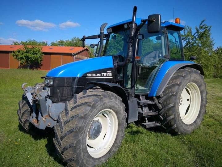New Holland ts 115 turbo - 2001