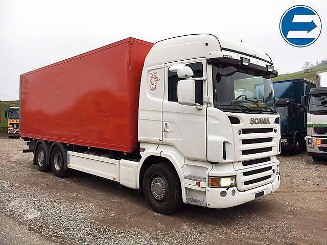 Scania R500 LB 6x2 Kasten/LBW - 2007