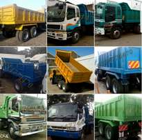 Isuzu tippers for sale