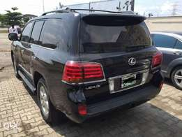 Well used Lx570 Lexus 2012 model