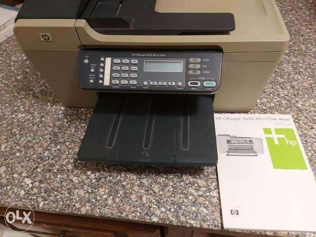 Hp office jet 5610 all in one