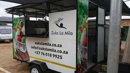 Almost Brand New 3m Food trailer for Sale